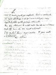 Nino [Rota] a Titina [Rota], Torre a mare 9 febbraio 1951