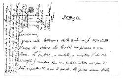 Nino [Rota] a Titina [Rota] 25 marzo 1962