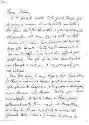 Nino [Rota] a Titina [Rota] 15 maggio 1947