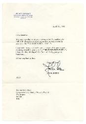 John Green a Nino Rota, Beverly Hills 11 aprile 1975