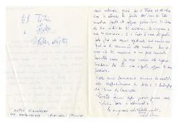 Pietrino [Pietro Acquafredda] a Nino Rota, Trinitapoli 19 luglio 1966