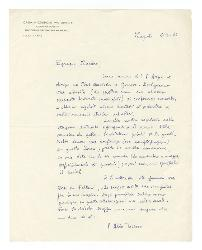 P[adre] Aldo Tassone a Nino Rota, Napoli 6 ottobre 1966