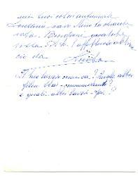 Luisa [Baccara] a Nino [Rota] 14 ottobre 1966