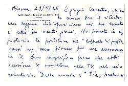 Amleto Lacerenza a [Nino Rota], Roma 19 maggio 1966