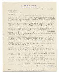 Astorre A. Mortari a Nino Rota, Milano 29 settembre 1953