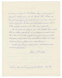 Astorre A. Mortari a Nino Rota, Milano 7 giugno 1953