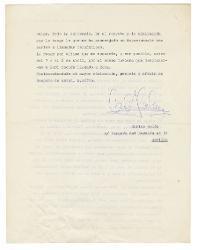 Carlos Colón a Nino Rota, Siviglia 31 marzo 1977