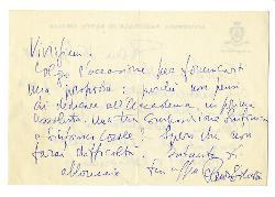 Renzo Silvestri a Nino [Rota], Roma 16 gennaio 1968