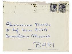 Don Renato Giovanardi a Nino Rota 28 maggio 1964