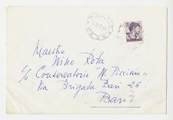 Wanda Protano a Nino Rota, Cabiate (Como) 17 febbraio 1965