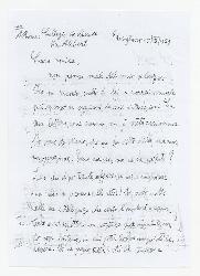 Nino Rota a Paola Ojetti, Usigliano 15 settembre 1929