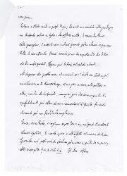 Nino Rota a Paola Ojetti, Milano 20 novembre 1933