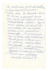 Luisa B[accara] a Nino Rota s.d.