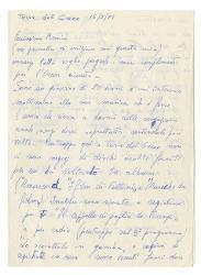 Gianni Segnale a Nino Rota, Torre del Greco 16 maggio 1975