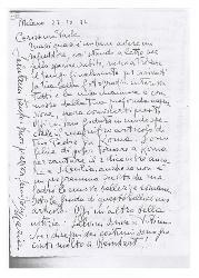 Maria [Rota] a Paola Ojetti, Milano 22 ottobre 1932