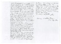 Nino [Rota] a Gigi Rota, Roma 19 agosto 1945