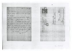 M[ichele] Cianciulli a Nino [Rota], Roma 6 novembre 1946
