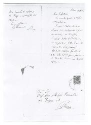 Nino [Rota] a [Michele Cianciulli], Bari 19 settembre 1960