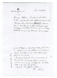 Nino [Rota] a [Michele Cianciulli], Bari 10 aprile 1962