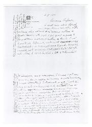 Nino [Rota] a [Michele Cianciulli], Bari 16 maggio 1964