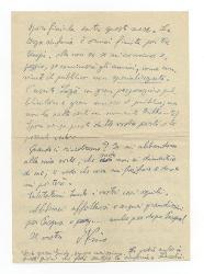 Nino [Rota] a Zia Ita e Maria, Roma 3 aprile 1944