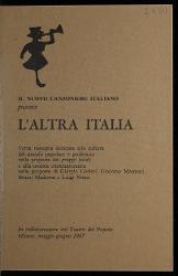 Milano. L'altra Italia 9 maggio 1967 - 13 giugno 1987