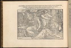 Lucrezia è sorpresa al lavoro da Tarquinio e Collatino