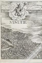 Veduta di Venezia a volo d'uccello