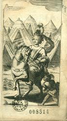 La Zenobia Zenobia a cavallo / Antiporta figurata