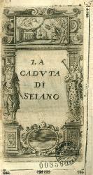 La caduta di Elio Seiano Portale con statue allegoriche e decorazioni / Antiporta figurata
