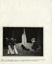 Zwölf Kammertanzwerke (Dodici danze da camera) Magda Karder, Paul Bohm e Aurel Milloss / Foto di scena