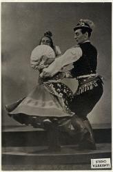 Ungarische Rhapsodie (Rapsodia Ungherese) Lya Krina e Aurel Milloss: Magyar rapszodia / Foto di scena