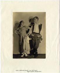 Ungarische Rhapsodie (Rapsodia Ungherese) Lore Jentsch e Aurel Milloss / Foto di scena