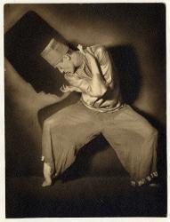 Der Wahnsinnige (abstrakte Tanzstudie in 3 Teilen: Nebenweg - Furcht - Sturz) Aurel Milloss / Foto di scena