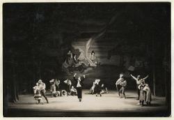 Puszta-Zigeuner (Zingari nella puszta) Veduta d'insieme della scena con interpreti / Foto di scena