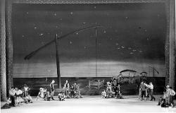 Ungarische Romantik (Ungheria Romantica) Veduta d'insieme della scena con interpreti / Foto di scena