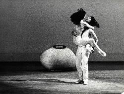 La Follia di Orlando Elisabetta Terabust e Giancarlo Vantaggio nei ruoli di Angelica e Medoro / Foto di scena