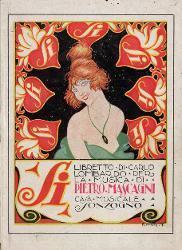 Si Illustrazione per Si delle Folies Bergère / Illustrazione