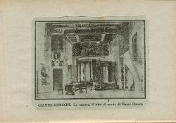 Gianni Schicchi Camera da letto di Buoso Donati / Illustrazione