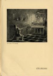 Parisina Due figure di fronte ad un altare / Illustrazione
