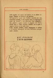 Parisina Tre figure / Illustrazione