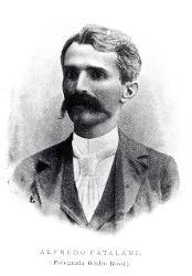 Catalani Alfredo (Lucca, 1854 - Milano, 1893) / Ritratto