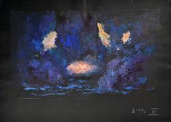 I capricci di Callot Esterno notturno / Bozzetto