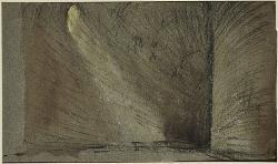 Manfred Interno di una galleria / Bozzetto