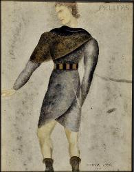 Pelléas et Mélisande Pelleas, nipote d'Arkel / Figurino