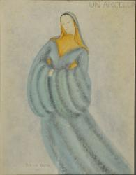 Pelléas et Mélisande Un'ancella / Figurino