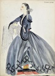 Giuseppe Verdi Giuseppina Strepponi / Figurino
