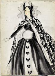 Giuseppe Verdi Costume femminile / Figurino