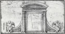 Decorazione per sopraporta / Architettura