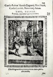 Due personaggi in costume in una scena urbana / Illustrazione